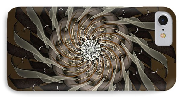 IPhone Case featuring the digital art The Inward Journey by Linda Whiteside