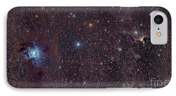 The Iris Nebula In Cepheus Phone Case by John Davis