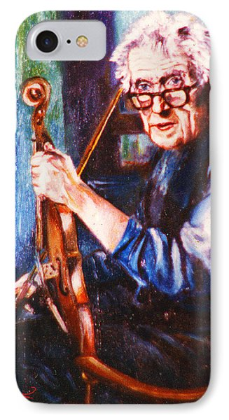 The Irish Violin Maker Phone Case by John Keaton