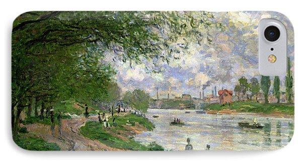 The Island Of La Grande Jatte IPhone Case by Claude Monet