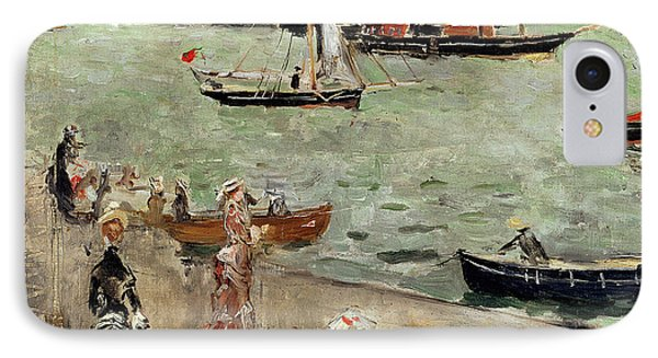 The Isle Of Wight Phone Case by Berthe Morisot