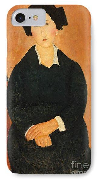 The Italian Woman, 1917  IPhone Case