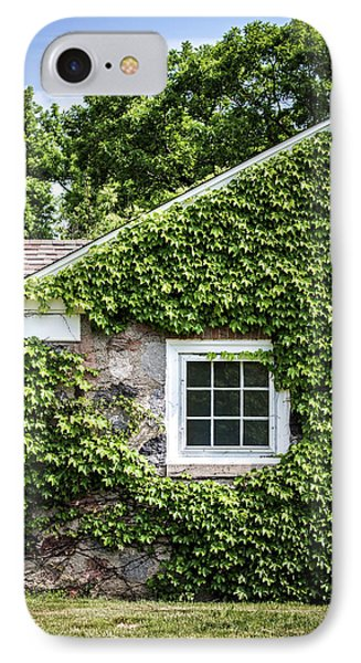 The Ivy House IPhone Case by Kim Hojnacki