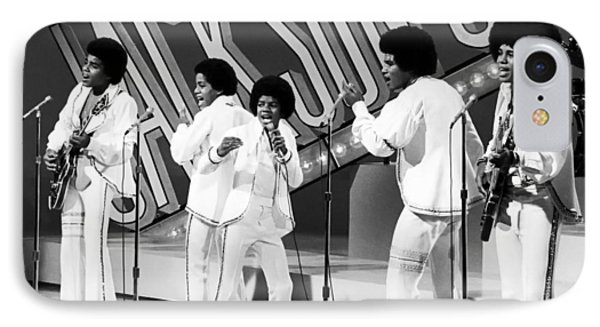 The Jackson 5 1972 IPhone Case by Mountain Dreams