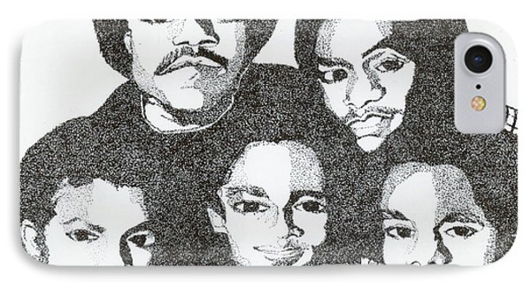 The Jacksons Tribute IPhone Case