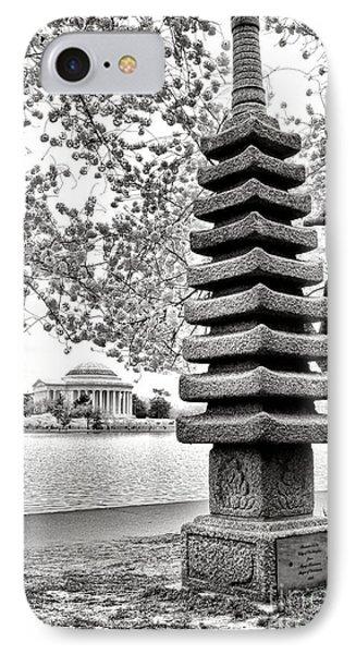 The Japanese Pagoda IPhone Case