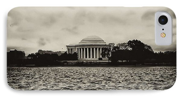 The Jefferson Memorial Phone Case by Bill Cannon