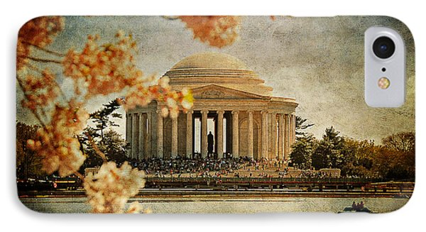 The Jefferson Memorial Phone Case by Lois Bryan