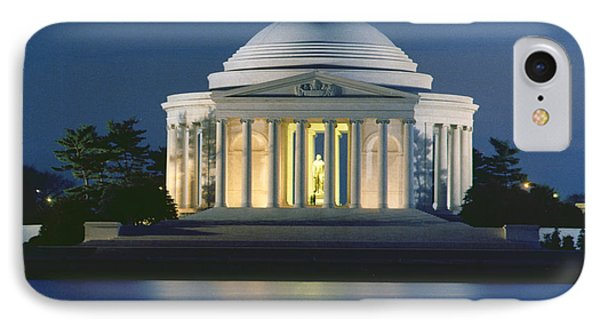 The Jefferson Memorial IPhone Case by Peter Newark American Pictures