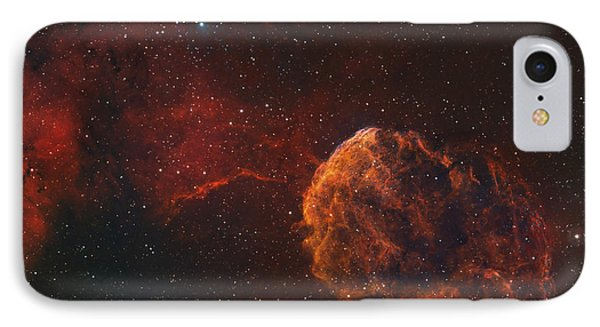 The Jellyfish Nebula Phone Case by Rolf Geissinger