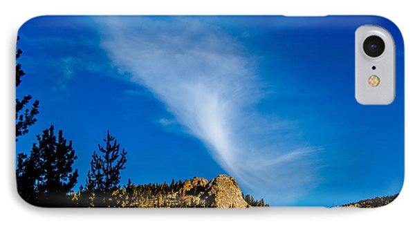 The Jet Strean Up At 10000 Ft Phone Case by Brian Williamson