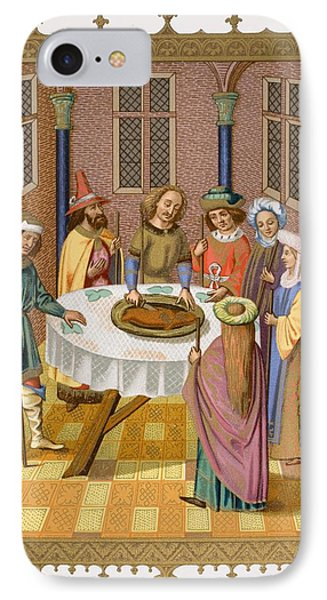 The Jews Passover. Facsimile Of A IPhone Case
