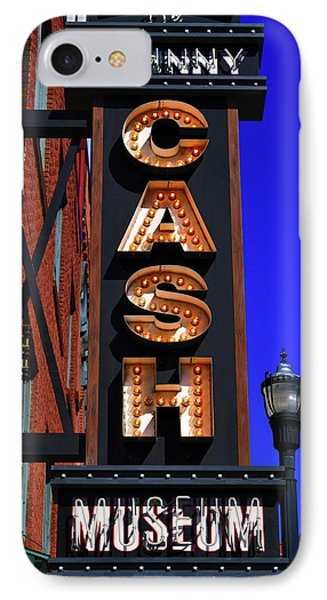 The Johnny Cash Museum - Nashville IPhone Case by Paul Brennan