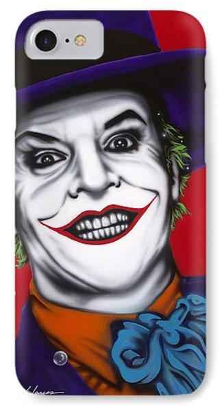 The Joker Phone Case by Alicia Hayes
