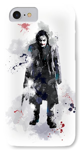 The Joker IPhone 7 Case by Marlene Watson