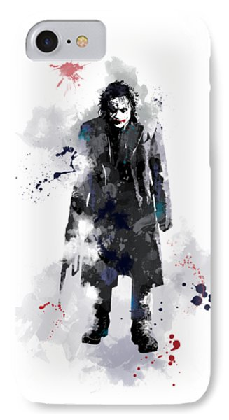 The Joker IPhone Case by Marlene Watson