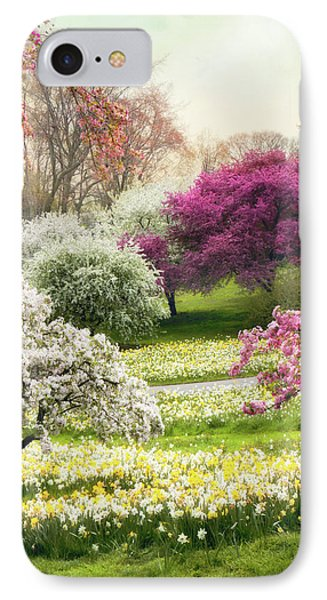 IPhone 7 Case featuring the photograph The Joy Of Spring by Jessica Jenney