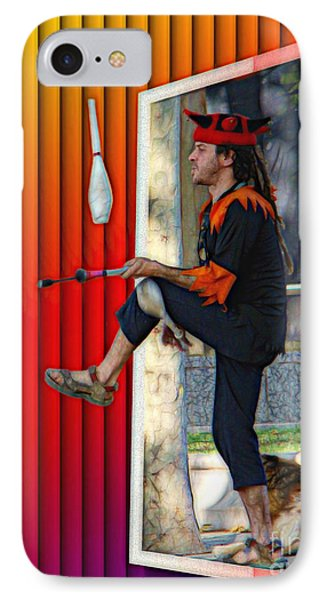 The Juggler Phone Case by Sue Melvin