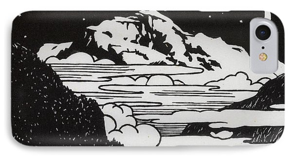 The Jungfrau IPhone Case by Felix Edouard Vallotton