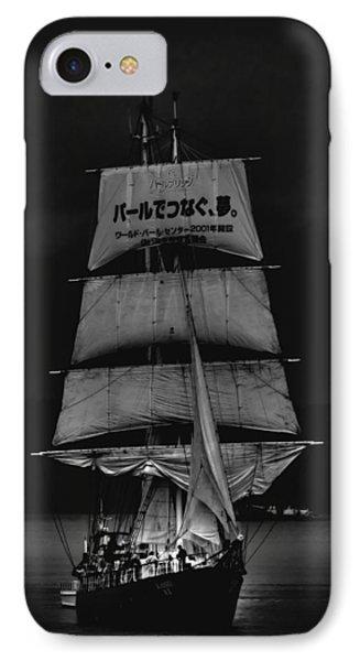 The Kaisei Tall Ship IPhone Case