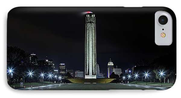 IPhone Case featuring the photograph The Kansas City Liberty Memorial by JC Findley