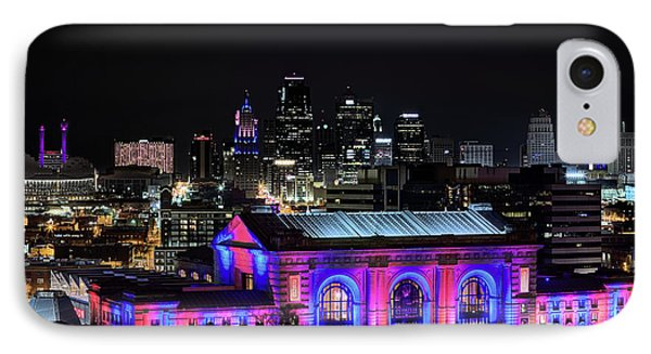 IPhone 7 Case featuring the photograph The Kansas City Skyline by JC Findley