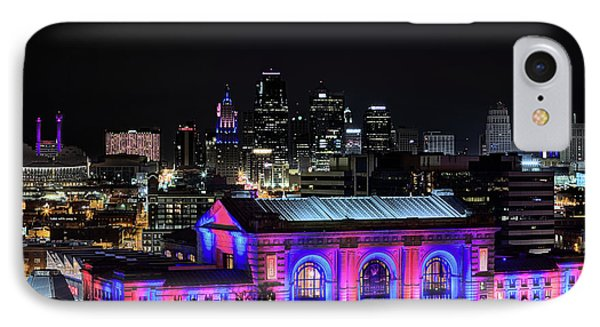 IPhone Case featuring the photograph The Kansas City Skyline by JC Findley