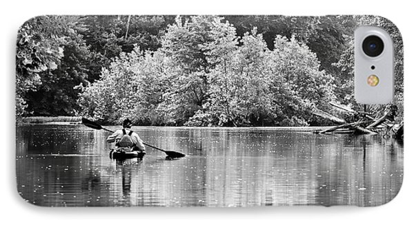 The Kayaker IPhone Case by Robert Charity