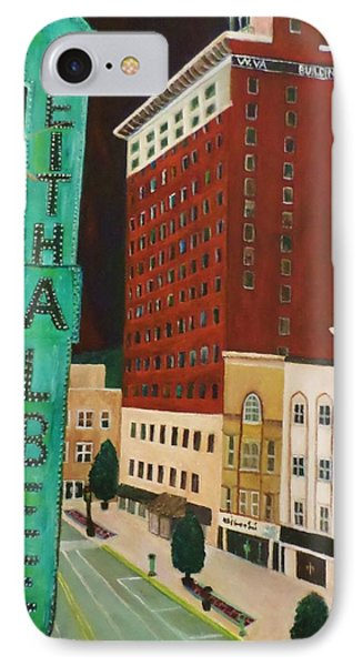 The Keith Albee Theater IPhone Case by Christy Saunders Church