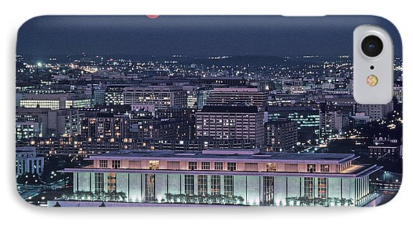 The Kennedy Center Lit Up At Night Phone Case by Kenneth Garrett