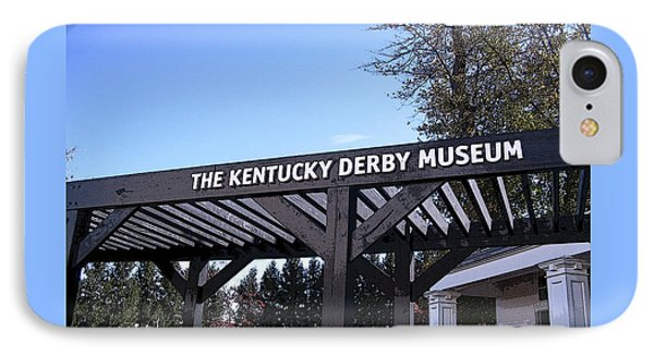 The Kentucky Derby Museum Sign IPhone Case