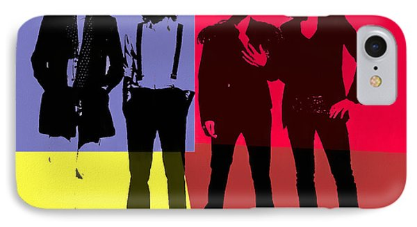 The Killers Pop Art Panels IPhone Case by Dan Sproul
