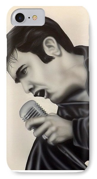 IPhone Case featuring the painting The King  by Darren Robinson