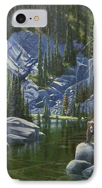 The King Of Cook's Lake IPhone Case