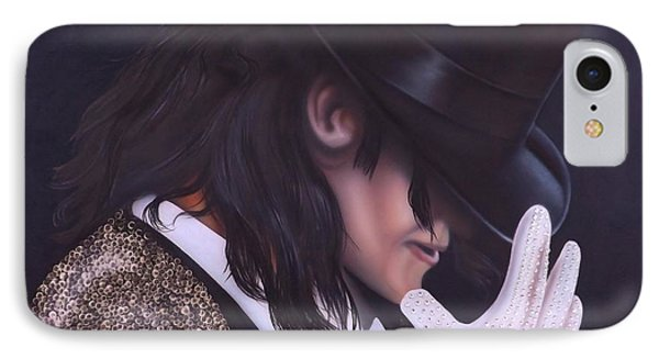 The King Of Pop IPhone Case by Darren Robinson
