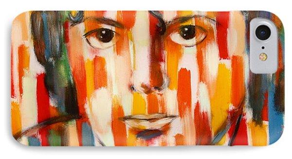 the king of pop Michael Jackson Phone Case by Habib Ayat