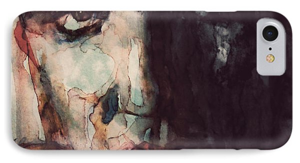 The King IPhone 7 Case by Paul Lovering