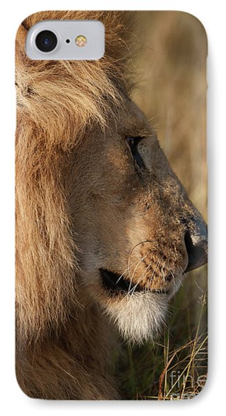 The King IPhone Case by Nichola Denny