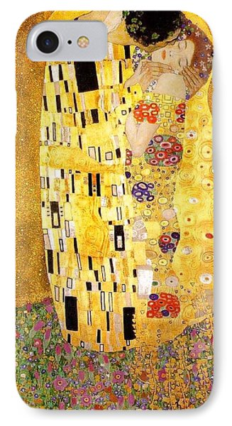 The Kiss IPhone Case by Klimt