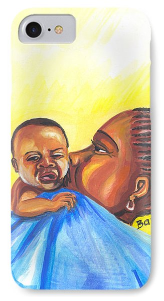 The Kiss Of A Mother In Senegal IPhone Case