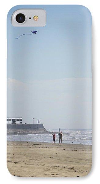 The Kite Fliers IPhone Case by Allen Sheffield