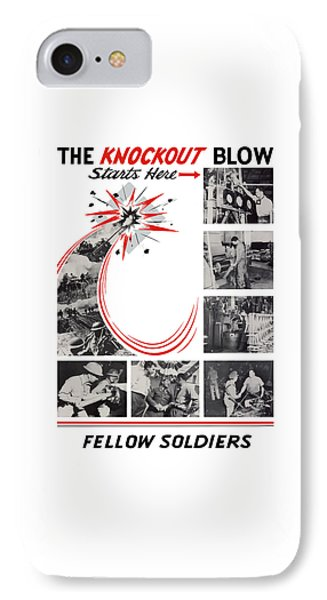 The Knockout Blow Starts Here IPhone Case