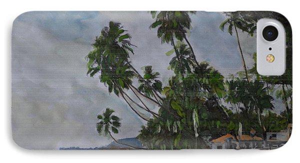 The Konkan Coastline IPhone Case by Vikram Singh
