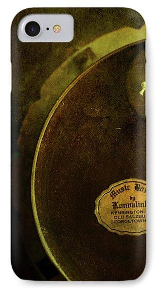 The Konvalinka Music Box Phone Case by Rebecca Sherman