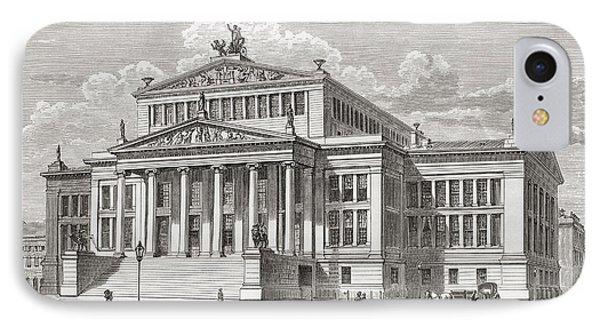 The Konzerthaus Berlin, Gendarmenmarkt IPhone Case