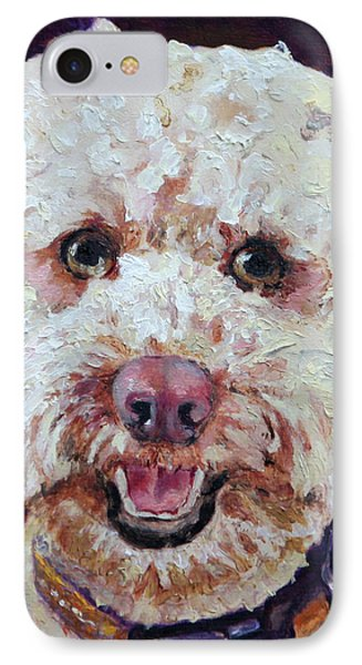 The Labradoodle Phone Case by Enzie Shahmiri