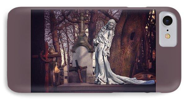 The Lady Of Powazki IPhone Case by Carol Japp