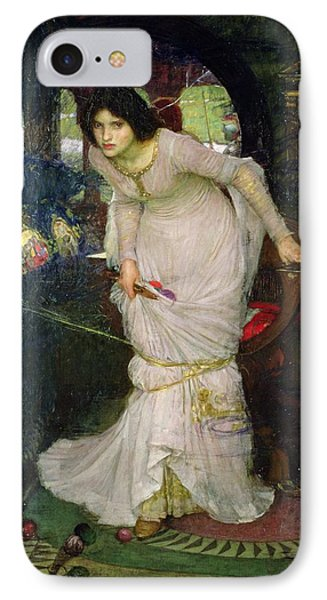 The Lady Of Shalott IPhone Case by John William Waterhouse