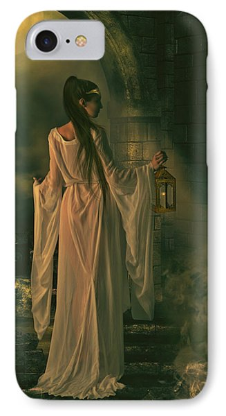 The Lady Of Shalott Phone Case by Shanina Conway