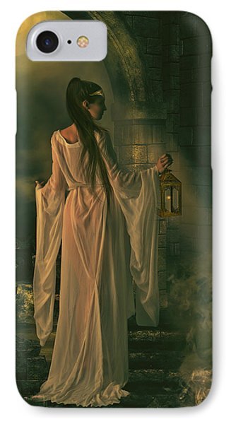 The Lady Of Shalott IPhone Case by Shanina Conway